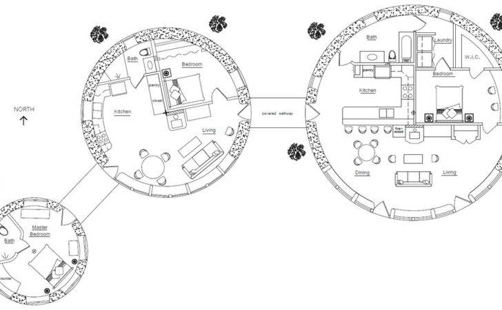 Three Roundhouses Design Enlarge