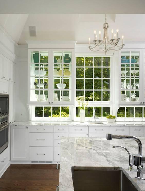 Through Upper Cabinets Design Ideas