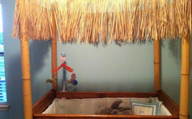 Tiki Hut Crib Jett Room Pinterest