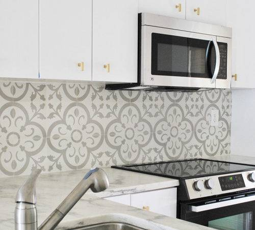 Tile Backsplash Our Normandy Design Dabney Frake