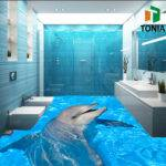 Tile Bathroom Lively Flooring Tiles Customized Floor