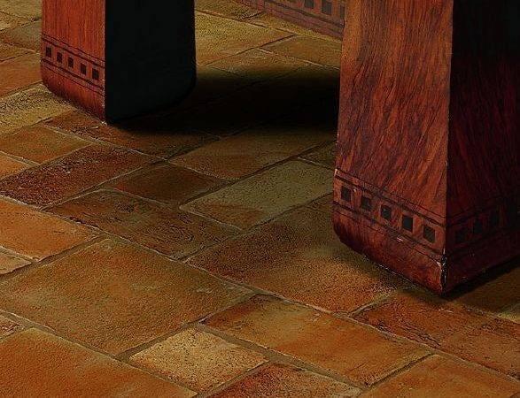 Tile Floor Rustic Italian Look Tuscan Flooring Ideas Terra Cotta
