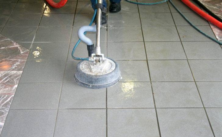 Tile Grout Steam Cleaning