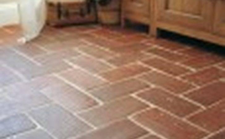 Tile Kitchen Floor Natural Terracotta Tiles Tiling Job