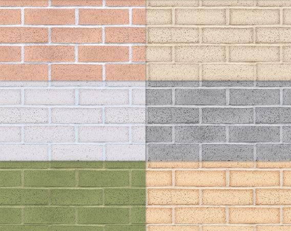 Tileable Brick Texture Colors
