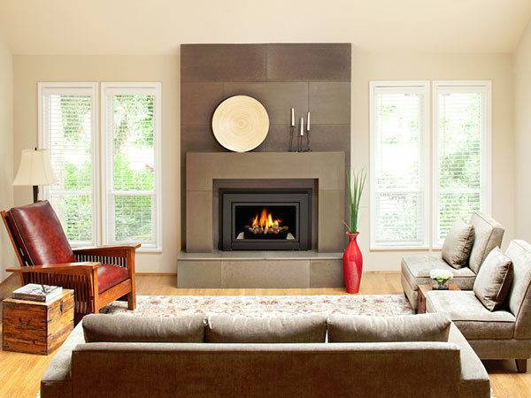 Tiled Fireplace Surround Ideas Wood Slodive