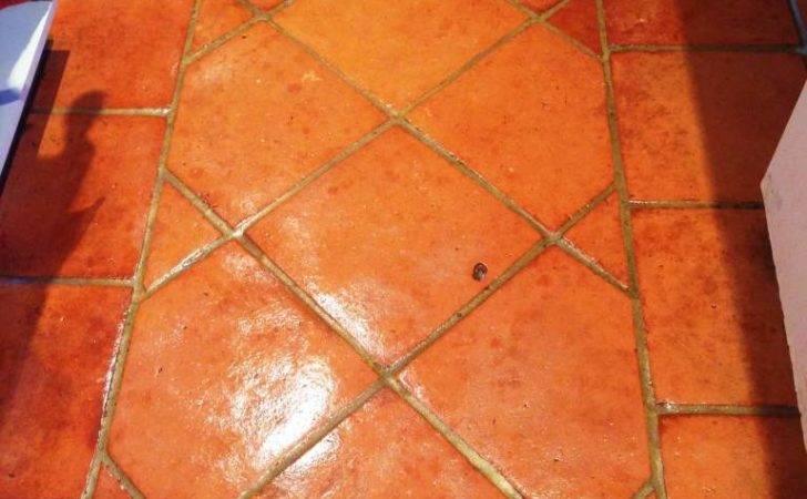 Tiled Floor Stone Cleaning Polishing Tips Terracotta Floors