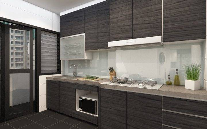 Tiles Finishing Kitchen Elements Great Way