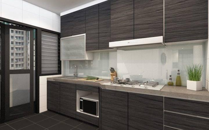 Tiles Finishing Kitchen Elements Great Way