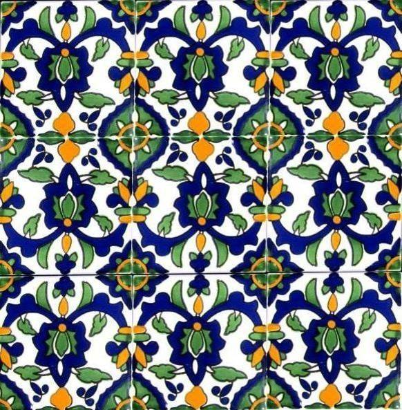 Tiles Mediterranean Tile Orlando Ceramic Mosaic