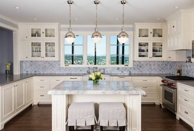 Timeless French Country Kitchen Traditional Seattle