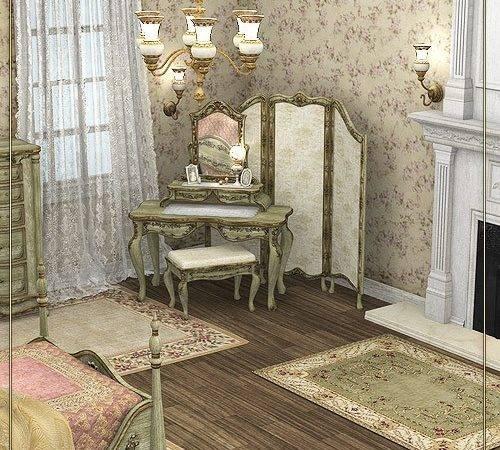 Timeless Victorian Bedroom