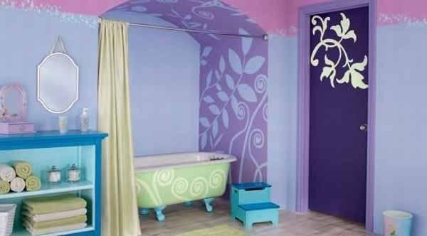 Tinkerbell Bathroom Disney Pinterest Behr