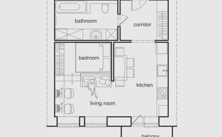 Tiny Apartment Floor Plans Unique Sqm Modern Small