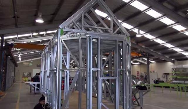 Tiny House Light Steel Frame Home Framing