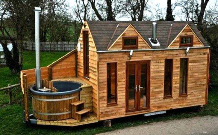 Tiny House Plans Wheels Cabin Trailer