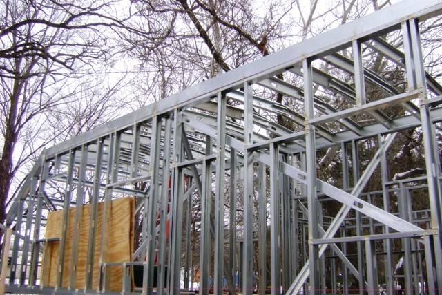 Tiny House Steel Frame