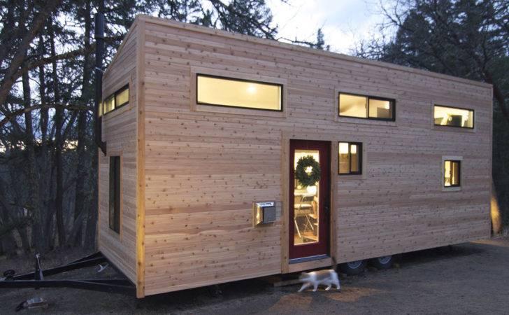 Tiny House Wheels Home Andrew Gabriella Morrison