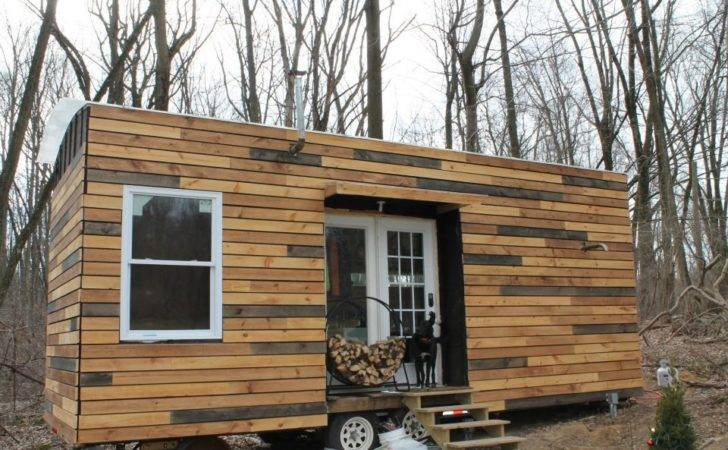 Tiny Houses Also House Wheels Likewise Cabin Park Model Homes