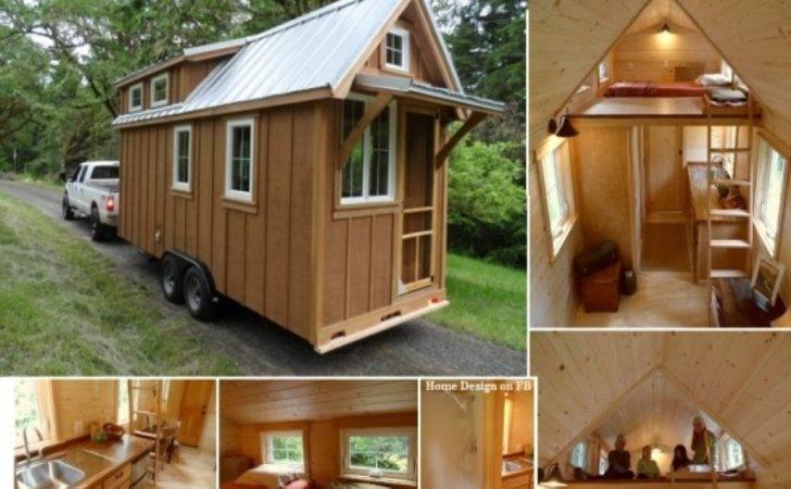 Tiny Houses Wheels Interior House Design