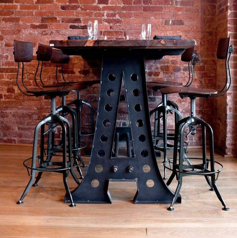 Together Industrial Bar Stools Furniture