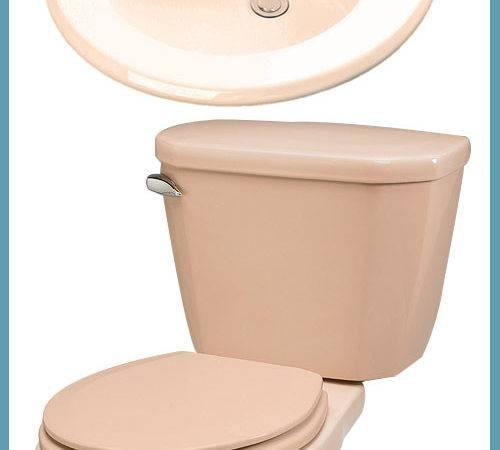 Toilets Sinks Retro Colors Gerber Renovation