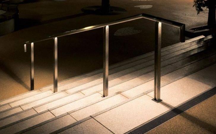 Tokilum Within Handrail Sheds Light Dark Steps