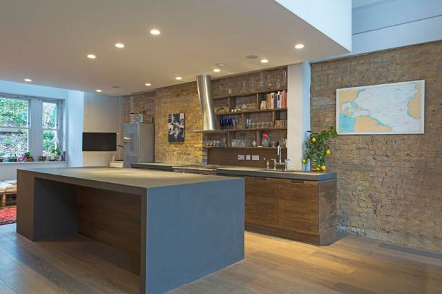 Ton Cir Kitchen Worktop Island Contemporary
