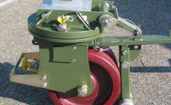 Ton Iso Freight Container Castor Set Wheels Expert