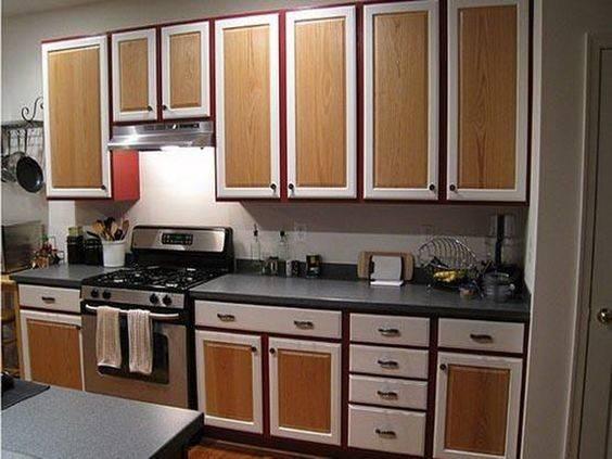 Tone Kitchen Cabinets Dual Kitchens