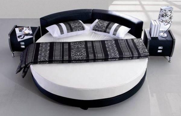 Tones Circle Bed Vivacious Bedroom Flashy