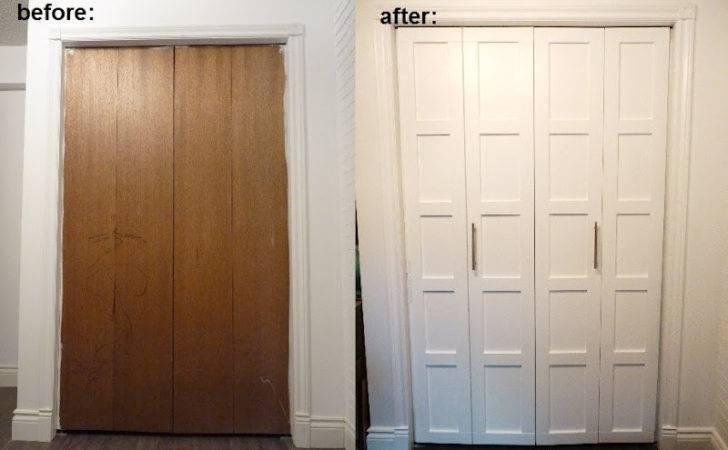 Top Diy Tutorials Fold Closet Door Makeover
