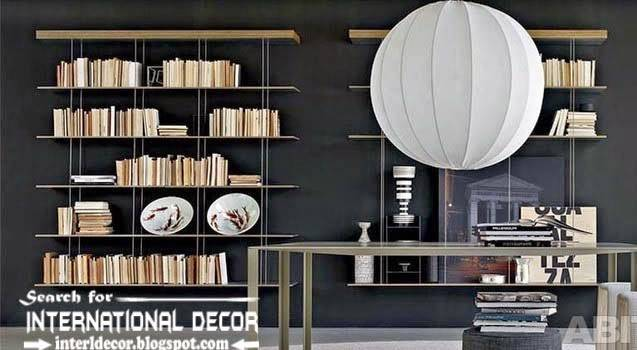 Top Modern Home Library Design Ideas Furniture Libraries