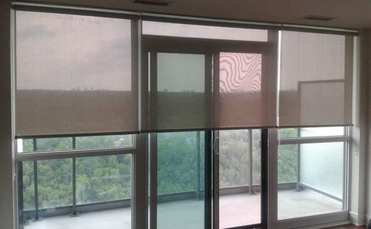Toronto Blinds Condo Balcony Doors Trendy
