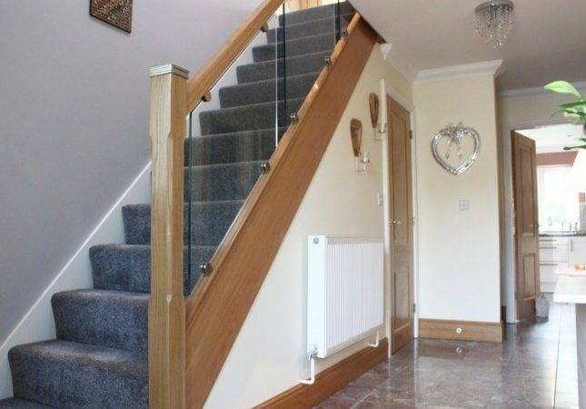 Toughened Glass Stair Balustrade Upton Wirral