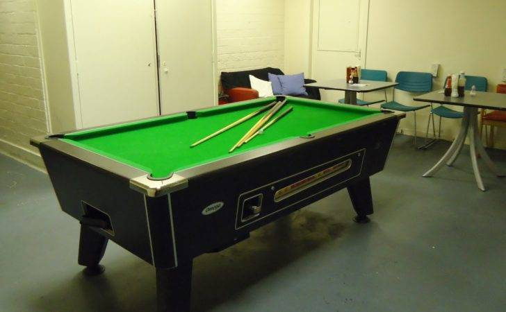 Tour Cafe Pool Table Perth Scotland