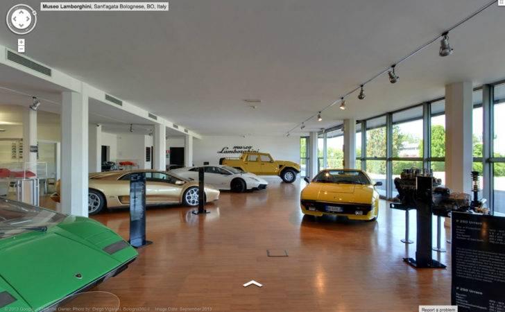 Tour Lamborghini Headquarters Google Streetview News