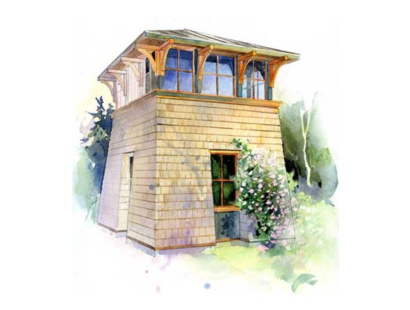 Tower Studio Plan Perfect Little House Company