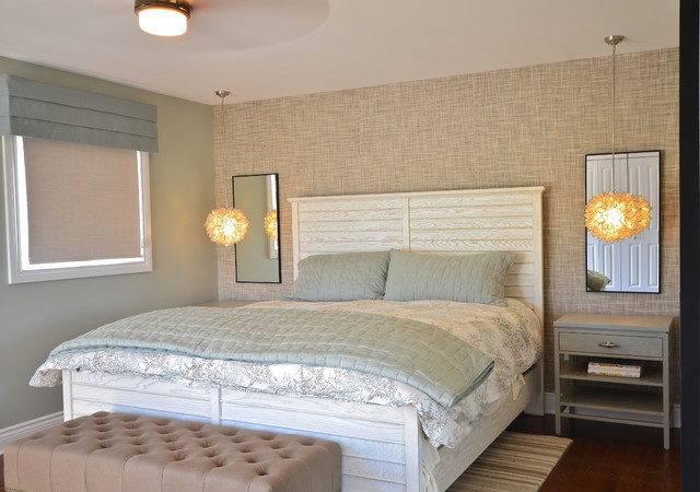 Townhouse Beach Style Bedroom Ottawa Stylehaus Interiors