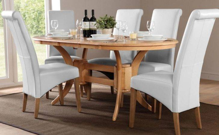 Townhouse Boston Oval Extending Dining Set White Only