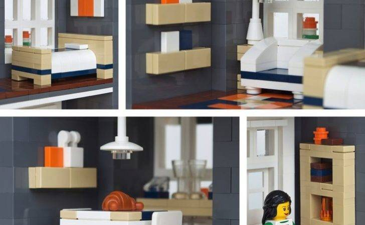 Townhouse Interior Lego Design Pinterest