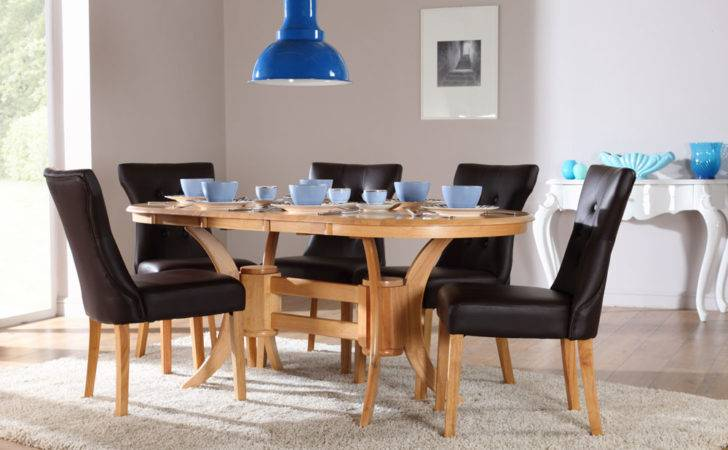Townhouse Oval Extending Dining Table Chairs Set Bewley Dark