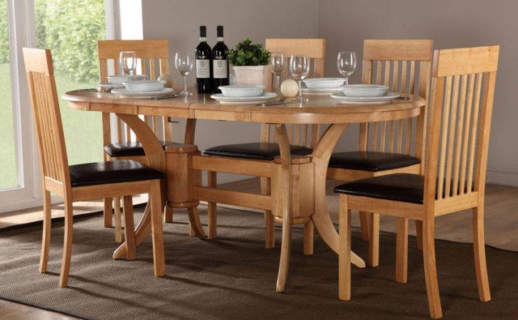 Townhouse Oval Extending Dining Table Oxford Chairs Set Only