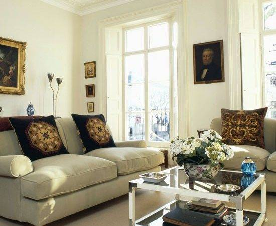 Traditional Drawing Room Summer Living Rooms