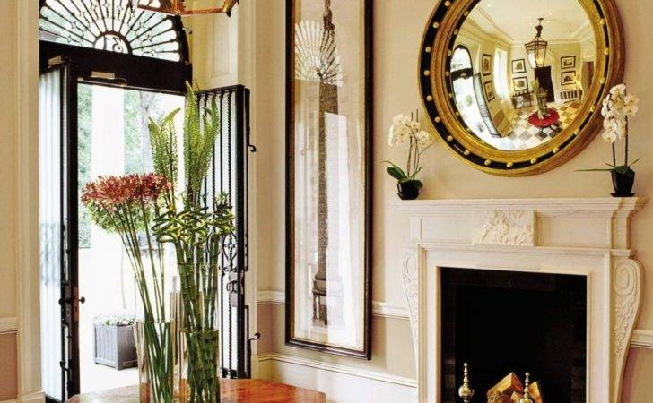 Traditional Entrance Hall Grant White Design London England