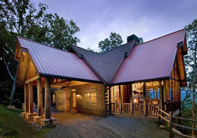 Traditional Exterior Modern Rustic Homes
