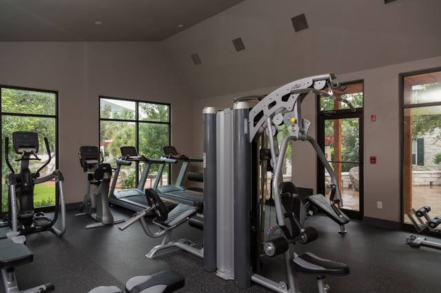 Traditional Home Gym Austin Greenbelt Construction