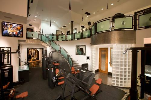 Traditional Home Gym Camarillo Architects Building Designers Arc