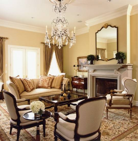 Traditional Home Neutrals Interiors Color