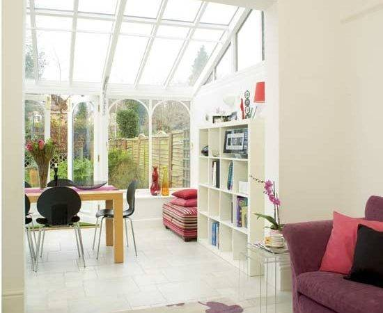 Traditional Style Conservatory Has Been Added Onto Back